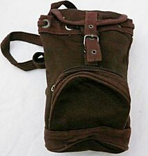 Markenlose Damentaschen aus Baumwolle mit Außentasche (n)
