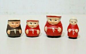 4 x Hummel Goebel Monks 1 x Friar Jug 3 x Cardinals West German Vintage -213