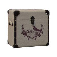 Coffre Coffret Malle Boîte de Rangement 43x29x43 cm