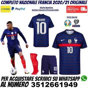 Maglie da calcio di squadre nazionali blu Francia   Acquisti ...