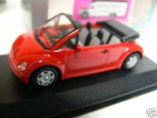 1/43 Minichamps VW New Beetle Cabrio 1994 rot 430054032