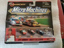 NIP MICRO MACHINES JEFF GORDON GREEN FLAG SERIES NASCAR STOCK CAR