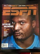 Steve McNair ESPN Magazine December 2003 Signed Autographed Beckett BAS