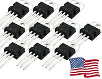 L7805CV L7805 7805 Positive Voltage Regulator IC 5V 1A TO-220 5-100pcs - USA