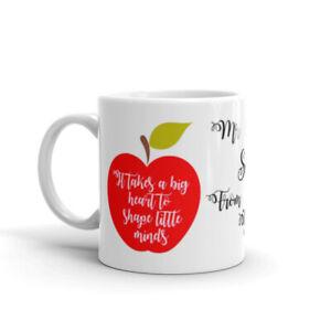 Personalised Teachers Mug Cup - Christmas Birthday Present Gift Funny