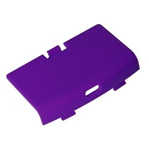 Game Boy Advance USB C Battery Cover Purple Grape RetroSix CleanJuice Back GBA