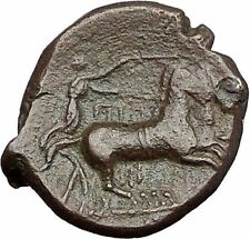 SYRACUSE in SICILY 287BC Persephone TYRANT HIKETAS Ancient Greek Coin i55402