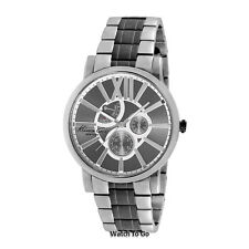 NEW KENNETH COLE WATCH for Men * Gunmetal Two Tone Stainless Steel Band KC9282