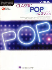 Classic Pop Songs Play-Along Violin Violine Geige Noten mit Download Code