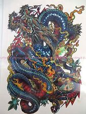 """US SELLER 7.5""""x4.5"""" body arm Tatoo large size sticker temporary adult fake tatto"""