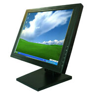 "15"" inch Stand Desktop Touch Screen LCD Monitor w/ VGA TFT POS"