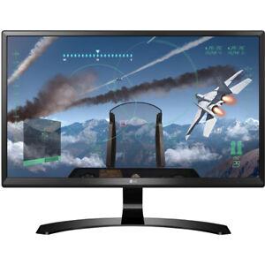 "LG 24"" 4K UHD IPS LED Computer Monitor 3840 x 2160 16:9 24UD58B"