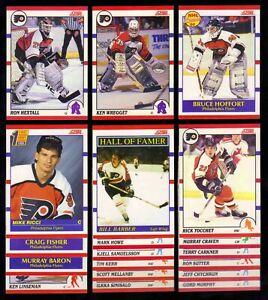 1990-91 Score Canadian Philadelphia Flyers Team SET x19 Bill Barber Ricci RC