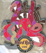 Hard Rock Cafe MYRTLE BEACH 2016 21st Anniversary MAGNET Wheel Anchor & Octopus!