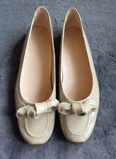 New Kennel & Schmenger Ladies Beige Patent Leather Shoes, Size UK 5.5 (EUR 38.5)