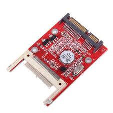 Flash CF Card to ATA SATA Serial 7+15Pin 22-Pin Male Adapter Converter Module