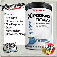 SCIVATION XTEND 30 SERVE EXTEND BCAA GLUTAMINE BRANCHED CHAIN AMINO ACIDS