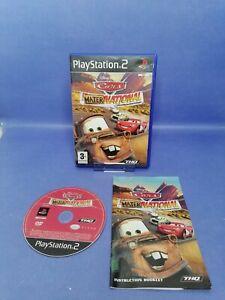 Disney Pixar Cars, Mater national championship, PS2,
