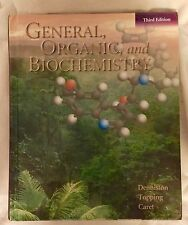 General, Organic, and Biochemistry, 3rd Edition, Denison,Topping,Caret, Free S&H