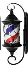 """NEW DESIGN BARBER POLE- ALL METAL FRAME-OUTDOOR 30"""" NEW"""