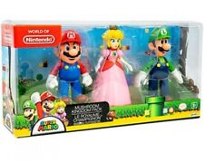 Super Mario Mushroom Kingdom Figure 3-Pack [Mario, Peach & Luigi]