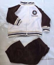 Calvin Klein Baby Boy Sweater Pants Set Size 6-9mo Zip Up Bomber Jacket Clothes