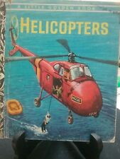 HELICOPTERS Little Golden Book 1974 VGC