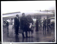 avion Concorde . vol 001 .prototype .  le Bourget . juin 1973