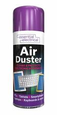 3x Essential Electrical Compressed Air Duster Cleans Protects Equipment 200ml