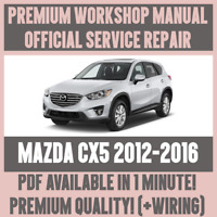 WORKSHOP MANUAL SERVICE & REPAIR GUIDE for MAZDA CX5 2012-2016 +WIRING