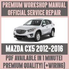 * atelier manual Service & Repair Guide pour MAZDA CX5 2012-2016 + faisceau de câblage