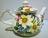 Sadler Floral Teapot Made in England