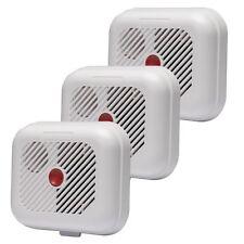 3x EI Kitemarked rivelatori di fumo allarme antincendio ionizzazione batterie incluse