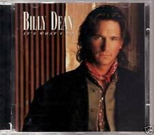 Billy Dean - It's What I Do CD FREE SHIPPING IN CANADA