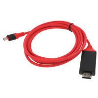 Type C to HDMI Adapter (4K, 30Hz), USB Type-C to HDMI Adapter Red