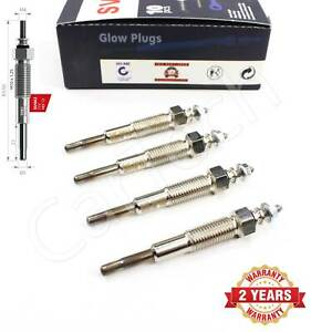 4X FOR FORD RANGER MAZDA B-SERIE E-SERIE 2.5D HEATER GLOW PLUGS XM3412A342BA
