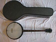 Vintage Silvertone / Harmony Tenor Banjo with Original Case