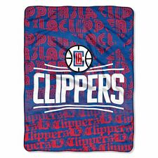 Los Angeles Clippers NBA 46x60 Redux Micro Raschel Plush Throw
