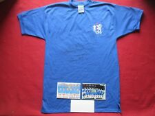 CHELSEA 4 LEGENDS SIGNED 1970 FA CUP WINNERS SCORE DRAW HOME SHIRT- PHOTO PROOF