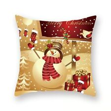 245cm*45cm Christmas Cushion Cover 3D Pillow Case Sofa Throw Xmas Gift Snowman