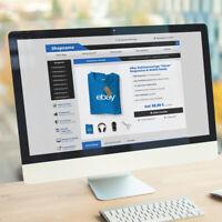 EBAYVORLAGE Auktionsvorlage Clever RESPONSIVE Mobil Design HTML Template