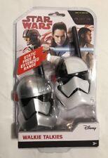 Disney Star Wars Walkie Talkies Extended Range Last Jedi Static Free