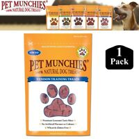 1x Pet Munchies 100% Natural Venison Training Treats Healthy Dog Puppy Food 50g