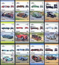 Tuvaluan Car & Motoring Postal Stamps