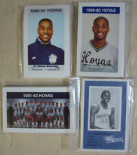 Georgetown Hoyas - 4 Complete Basketball card sets Patrick Ewing Alonzo Mourning