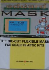 Eduard 1/48 EX061 Canopy Mask for the Tamiya Vought F4U-1 Corsair (Birdcage)