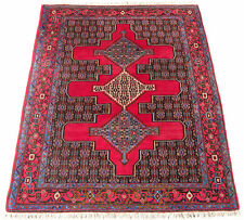 Orient Perser Teppich Senneh / Sanandadj 155 x 125 Bidjar Rug Tapis Tappeto