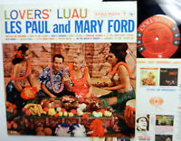LES PAUL and MARY FORD lovers Luau LP Hawaii VG++ vinyl #298