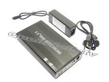 """BOX ESTERNO IN ALLUMINIO HD 3.5"""" IDE SATA USB 2.0 CASE"""