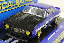 SCALEXTRIC C3005 1969 CHEVROLET Z-28 CAMARO NEW 1/32 SLT CAR IN DISPLAY CASE